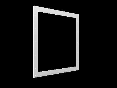 Rektangulær flens