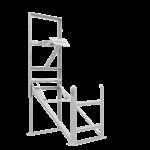 Sammenleggbart stativ for elektroniske skilt