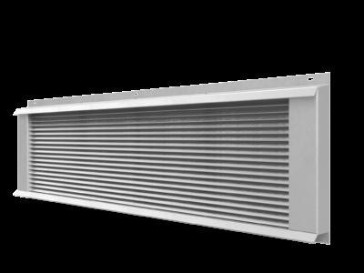 Rektangulær ventil til ventilasjonsanlegg