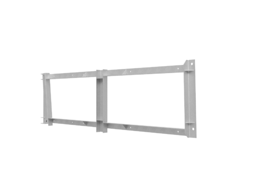 montasjeramme for ventilator i tunnel